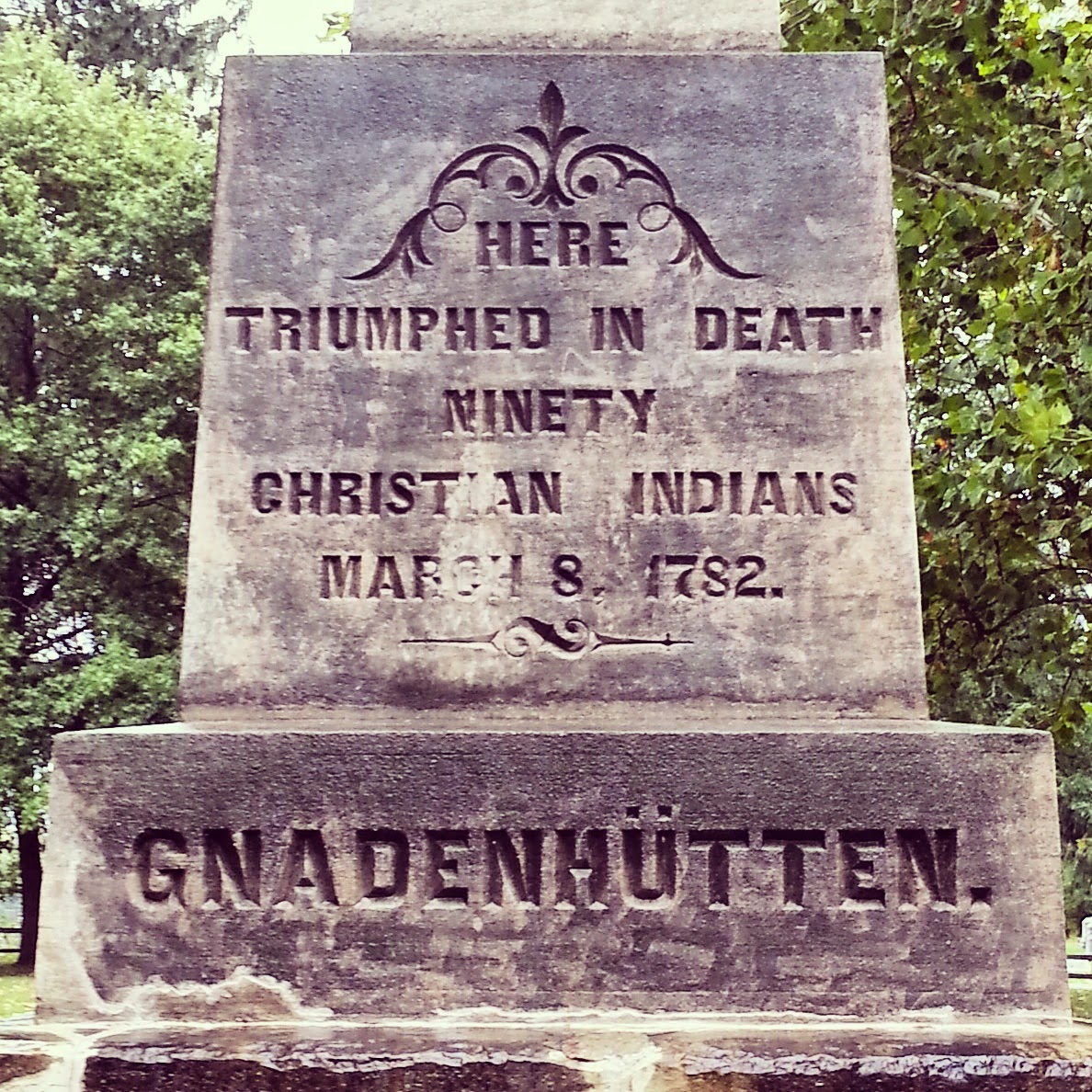 gnadenhutten women The gnadenhutten massacre 29 women, and 39 children two indian boys, one of whom had been scalped, survived to tell of the massacre.
