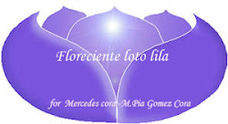 """Florecinete Loto  Lila"""