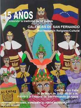 CALENDAS DE SAN FERNANDO