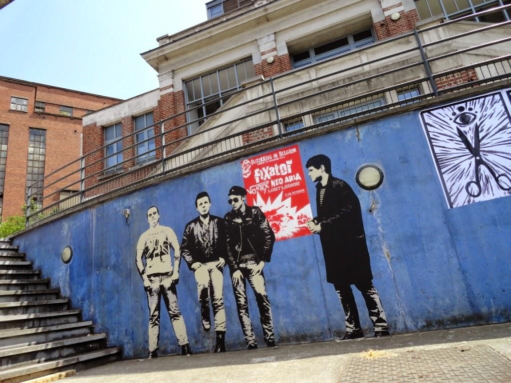 Charleroi graffiti