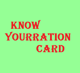 Know_Your_Ration_Card_Goa_Ration_card_details