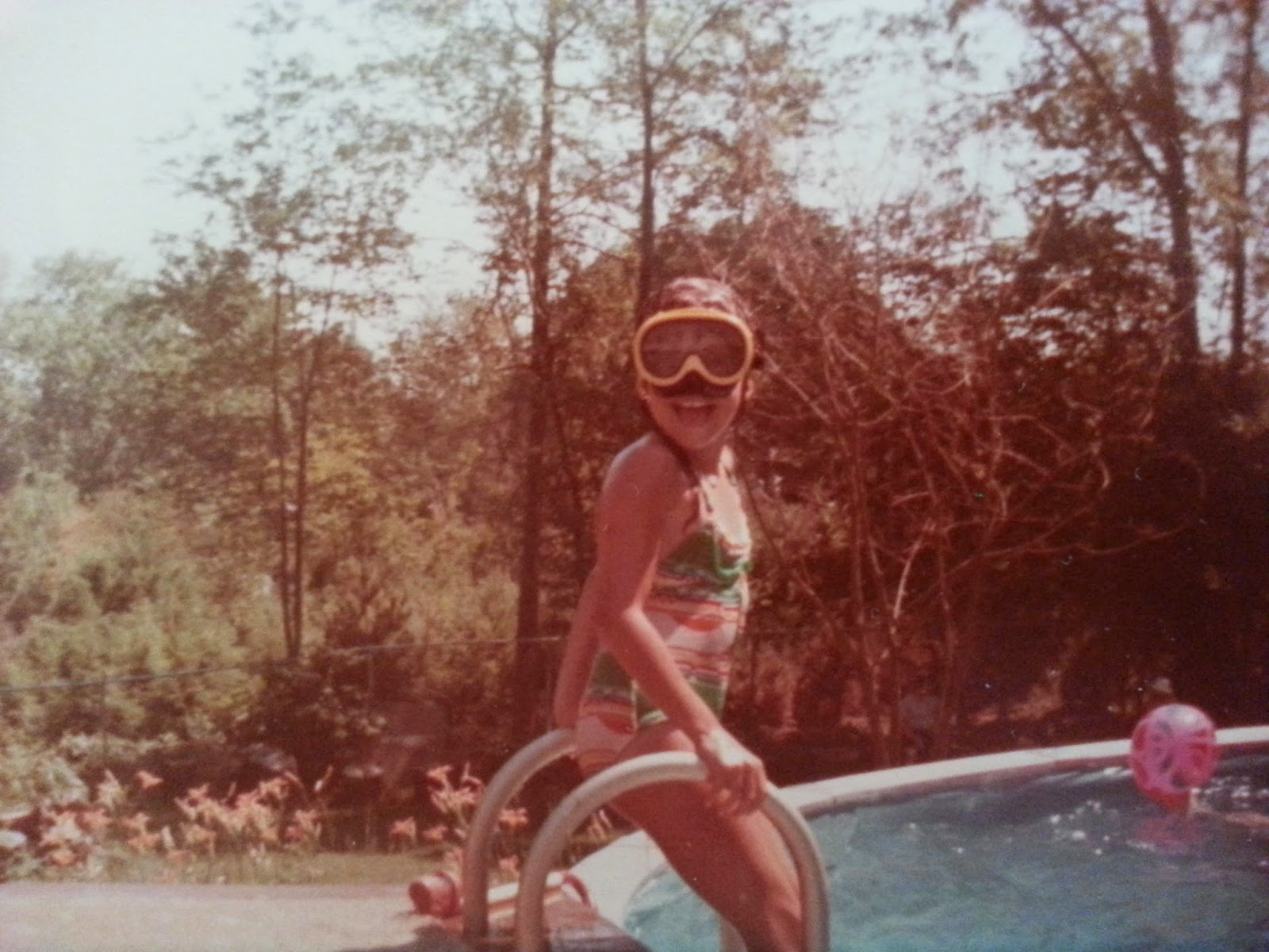 Swimming at Grandma's | Navigating Hectivity by Micki Bare
