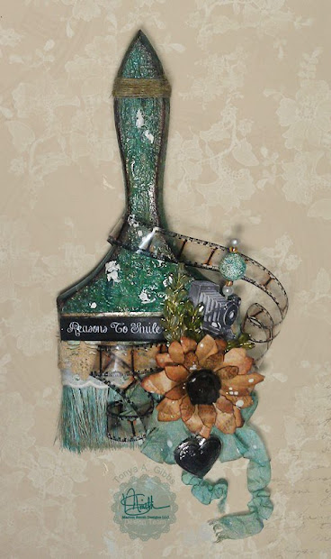 marion smith design altered paintbrushes