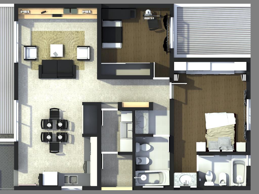 Iu arquitectura y dise o marzo 2012 for Interior 1 arquitectura
