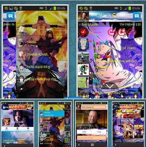 BBM MOD Naruto V2.6.0.30 Apk
