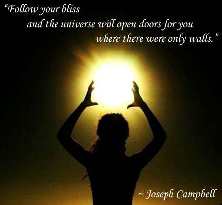 Soul food follow your bliss