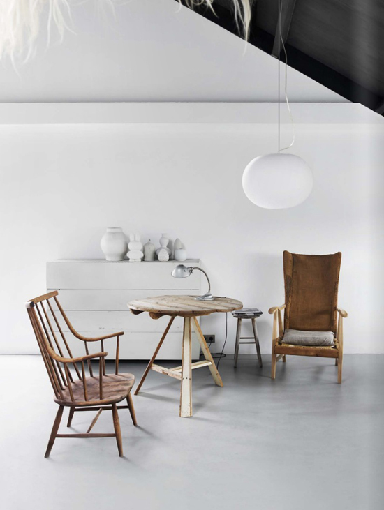 Modern rustic scene shot by Hotze Eisma for Est Magazine issue 10.
