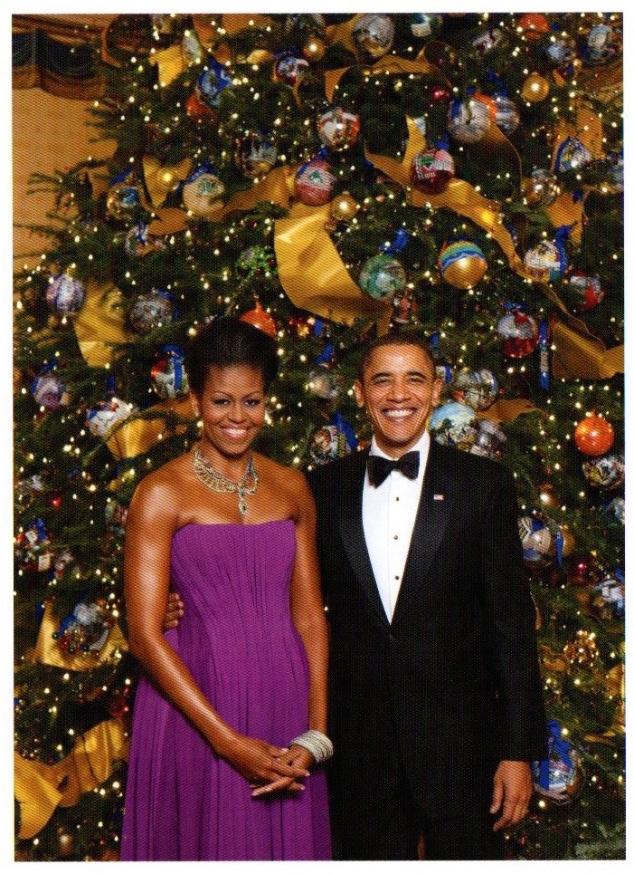 Up Close, with Peter Sage: Obama Christmas Card