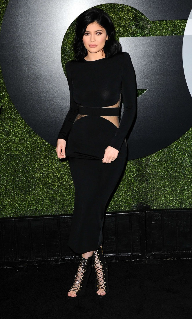 Kyle Jenner - Sexiest Celebrities at the GQ Men of the Year Party 2015 in LA