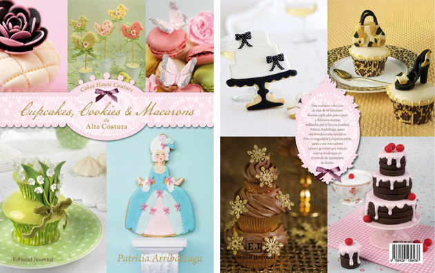 cakes haute couture el libro - Patricia Arribálzaga