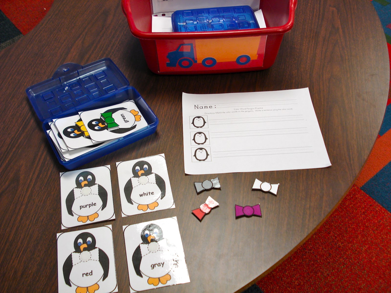 winters kinderland winter literacy and math stations