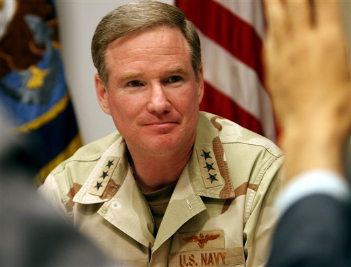 william mcraven thesis An interview with adm william h mcraven, the commander of united states special operations command (ussocom.