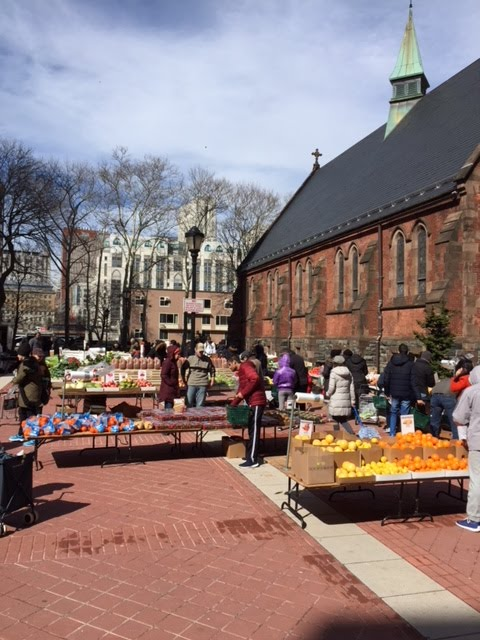 Roosevelt Island Saturday Farmers Market At Good Shepherd Plaza