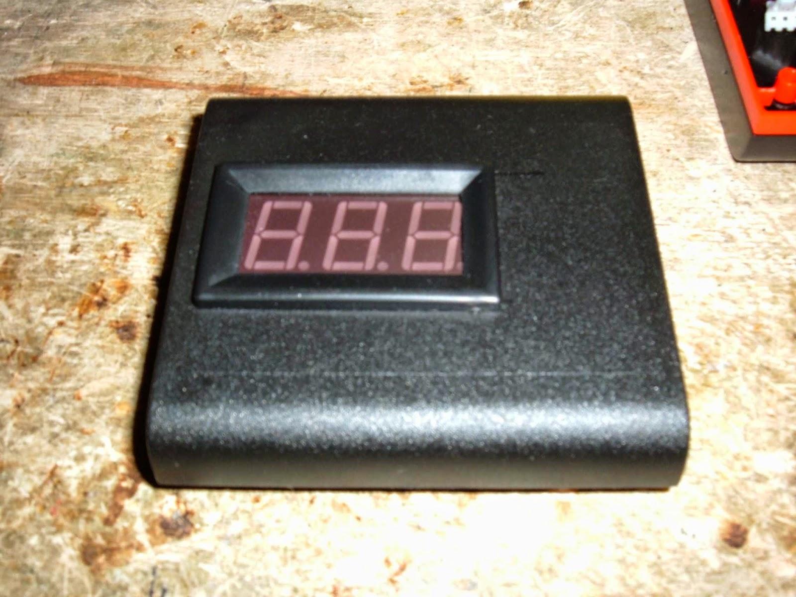 Der Bastelbunker - Die Basteldoku: LED-Voltmeter für die ...