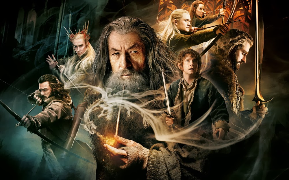 Le Hobbit 2 La Désolation de Smaug The Hobbit The Desolation of Smaug Bilbo Gandalf Tolkien