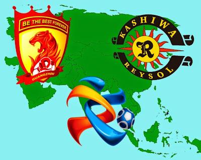 Semifinal de la Lliga de Campions de l'AFC entre el Guangzhou Evergrande i el Kashiwa Reysol.