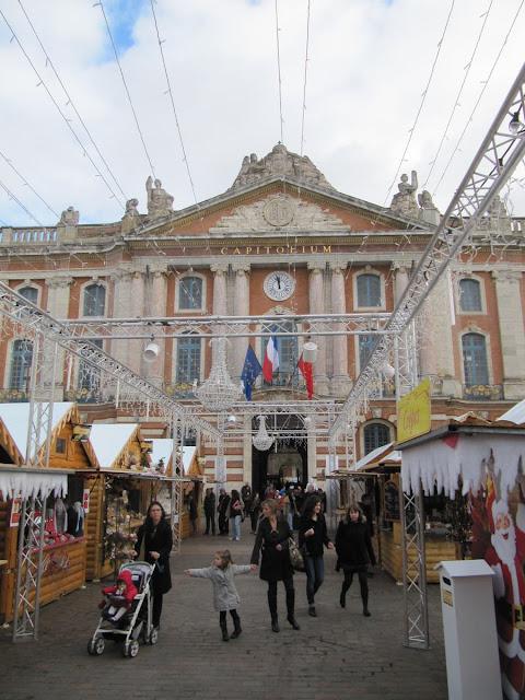 fachada capitolio Toulouse, ayuntamiento Toulouse