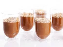 Copo de creme de chocolate