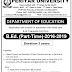 PERIYAR UNIVERSITY - Application form for Admission to B.Ed. (Part-Time) Programme – 2016- 2019 DOWNLOAD.