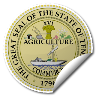 Sticker of Tennessee Seal