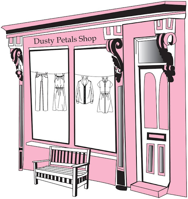 Dusty Petals Shop Opens! First Look for sale!