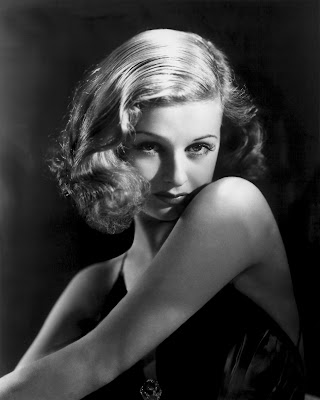 Joan Bennett was a natural blond
