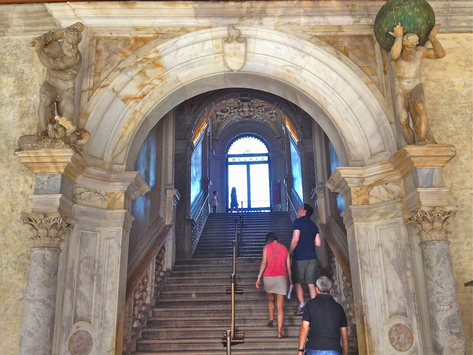 Picture of Palazzo Ducale, Venezia. Entrance to the Doge's apartment.