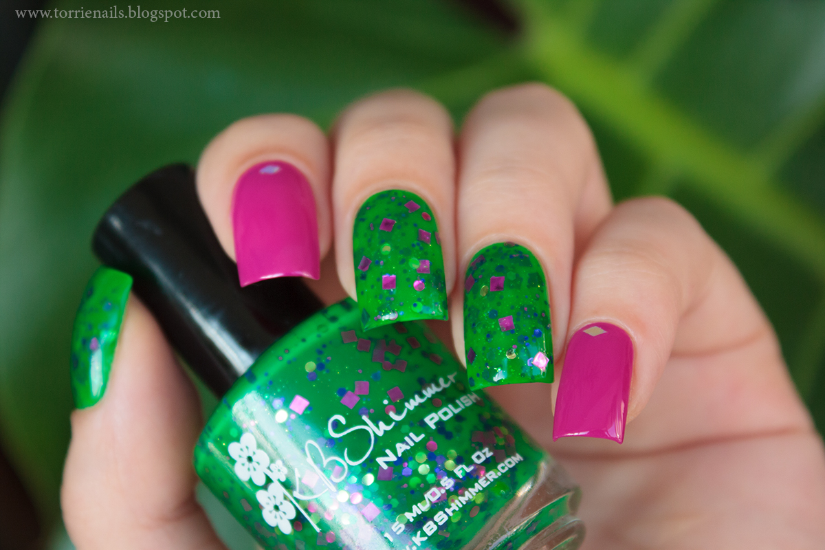 KBShimmer The Dancing Green  Kiko 290