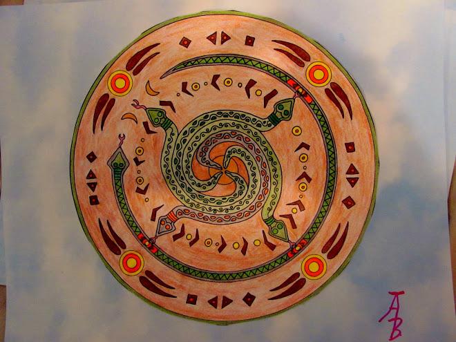 wagga snake mandala - photo#30