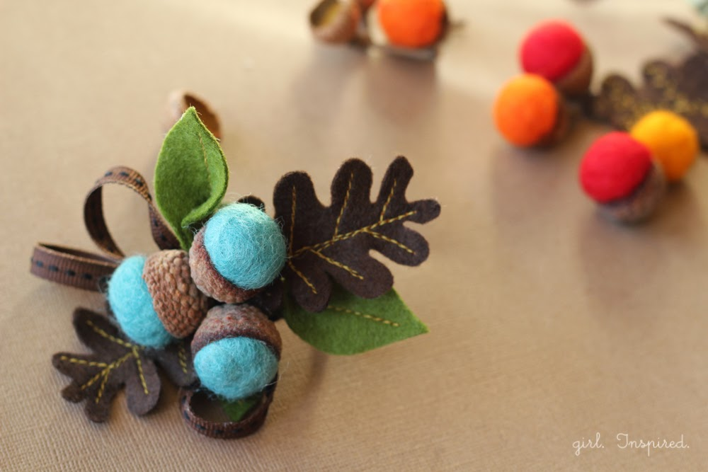 A merry little christmas for Diy acorn crafts