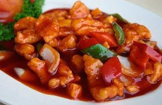 resep udang asam manis