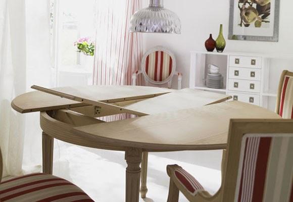 Marta decoycina mesas de comedor extensibles y abatibles - Como hacer una mesa abatible ...