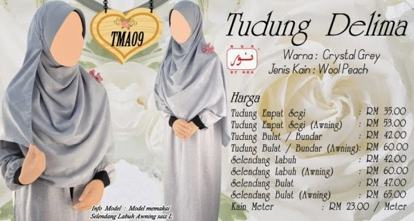 tudung labuh online tudung raya baju muslimah jubah