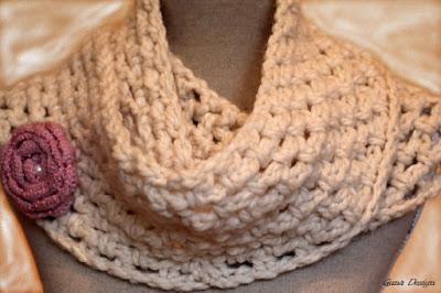 gunadesign guna andersone chunky bulky yarn white cowl scraf