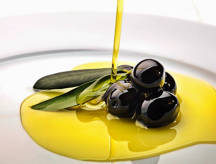 Olives swimming in Oil