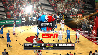 NBA 2K13 ESPN Transition Overlay Graphics Mod