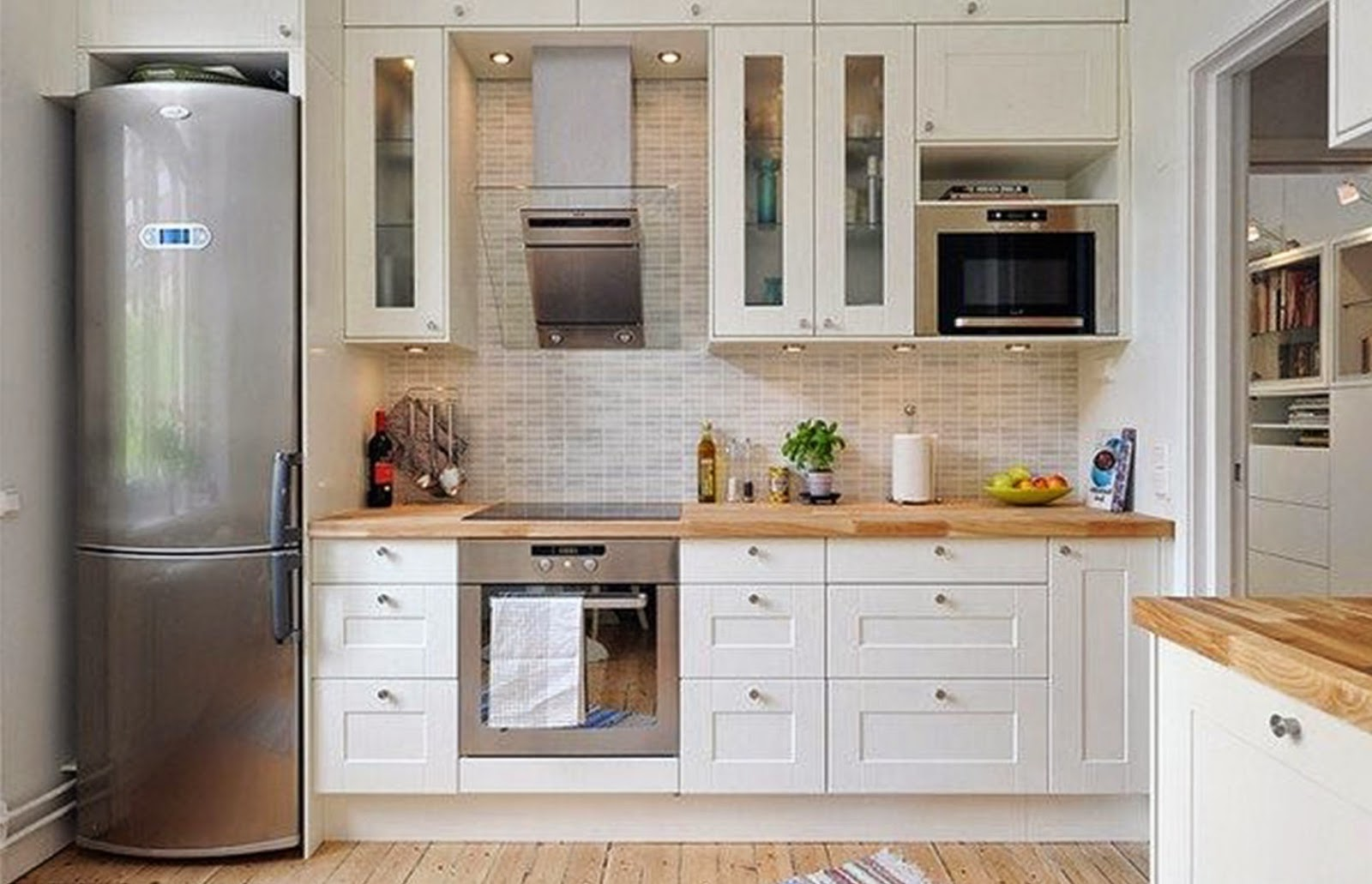 horizontal tile kitchen backsplash idea. our 50 best industrial