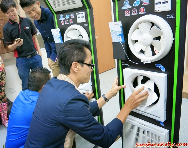 Mitsubishi Electric, Eco Changes, For A Greener Tomorrow, how to fix Ventilation Fan, Ventilation Fan