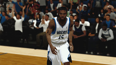 NBA 2K13 Michael Gelabale Cyberface Dreads