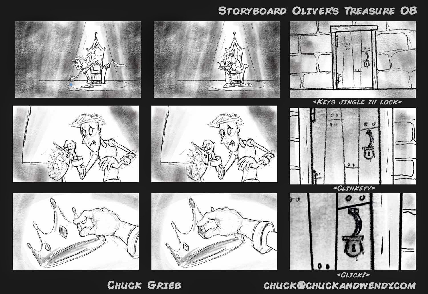 chuck grieb u0026 39 s storyboard portfolio  storyboard for the