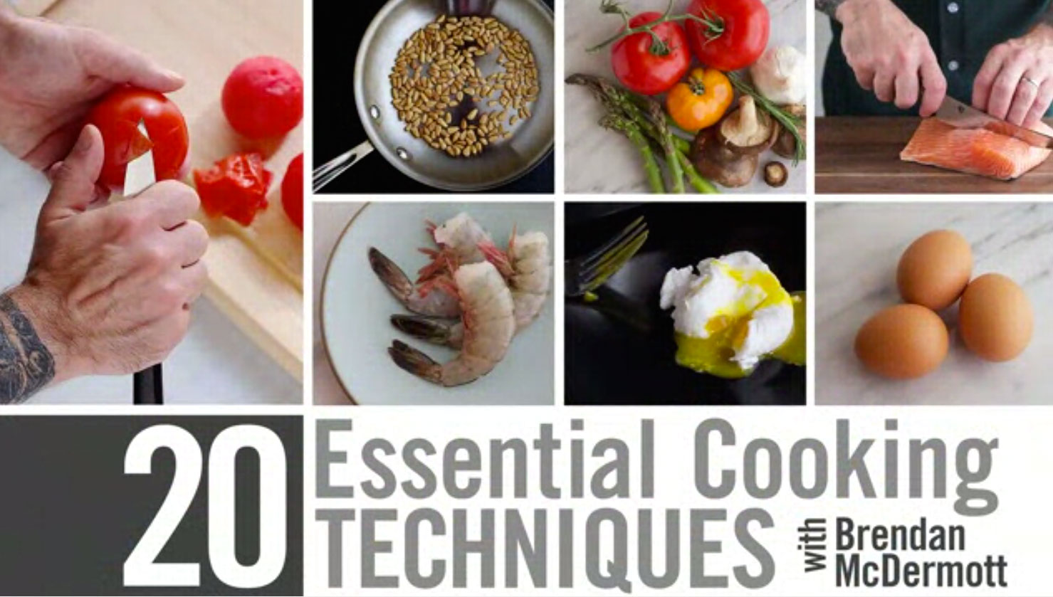 20 Essential Cooking Techniques you need to see!