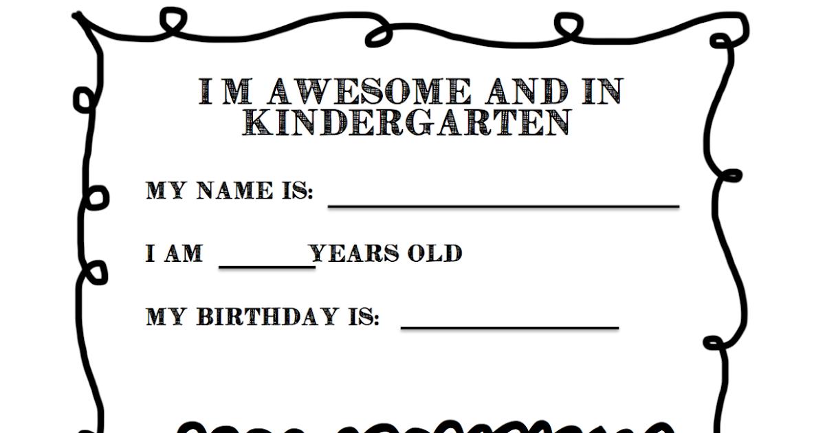 The Adventure of a First Year Teacher : Kindergarten ...