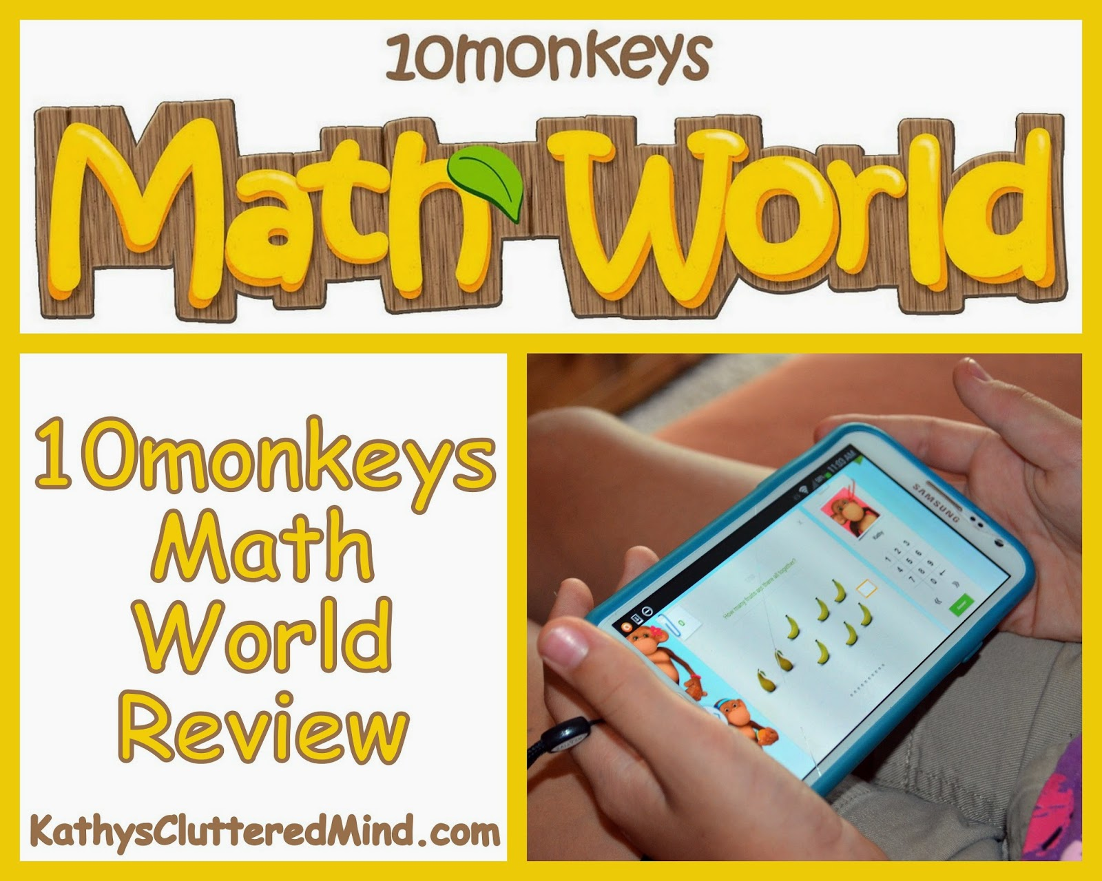 Kathys Cluttered Mind: 10Monkeys Math World Review - The Fun, Easy ...