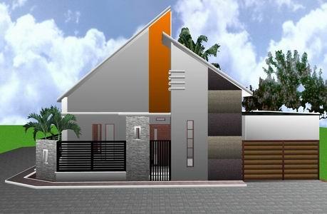 desain rumah minimalis modern 1 lantai terbaru - model