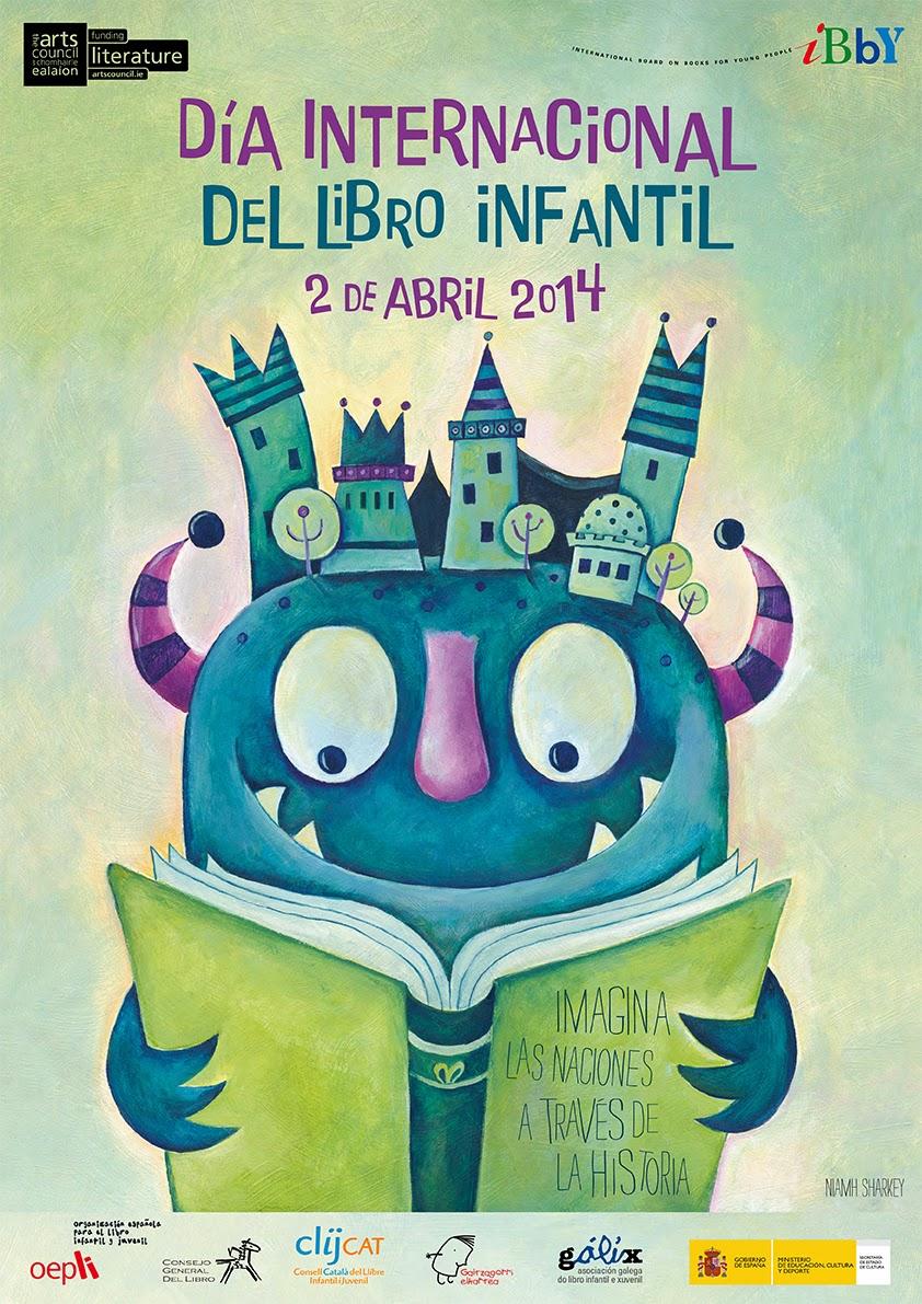 cartel día del libro infantil 2014