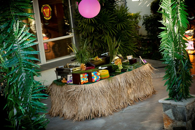 Bluebell Events 50th Luau Birthday Party