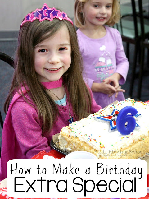 How to make a birthday extra special without added stress!