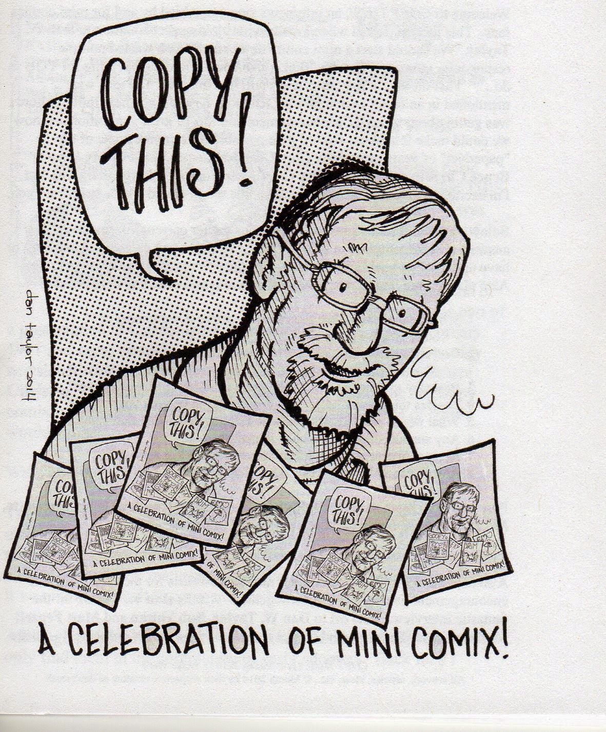 Copy This! is a mini comics news and review zine