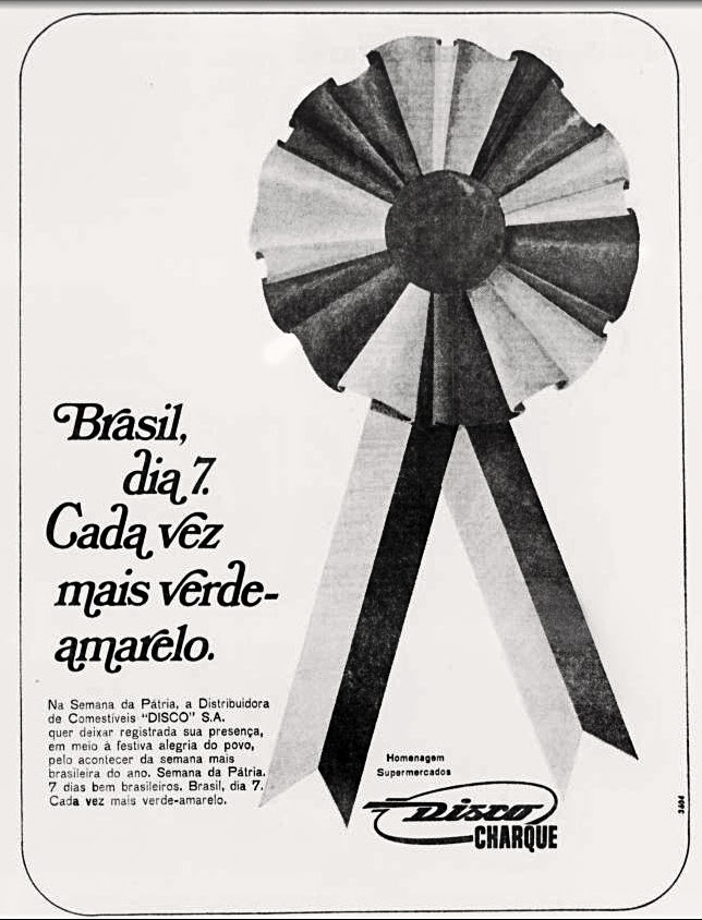 História dos anos 70; Propaganda na década de 70; Brazil in the 70s. Oswaldo Hernandez.
