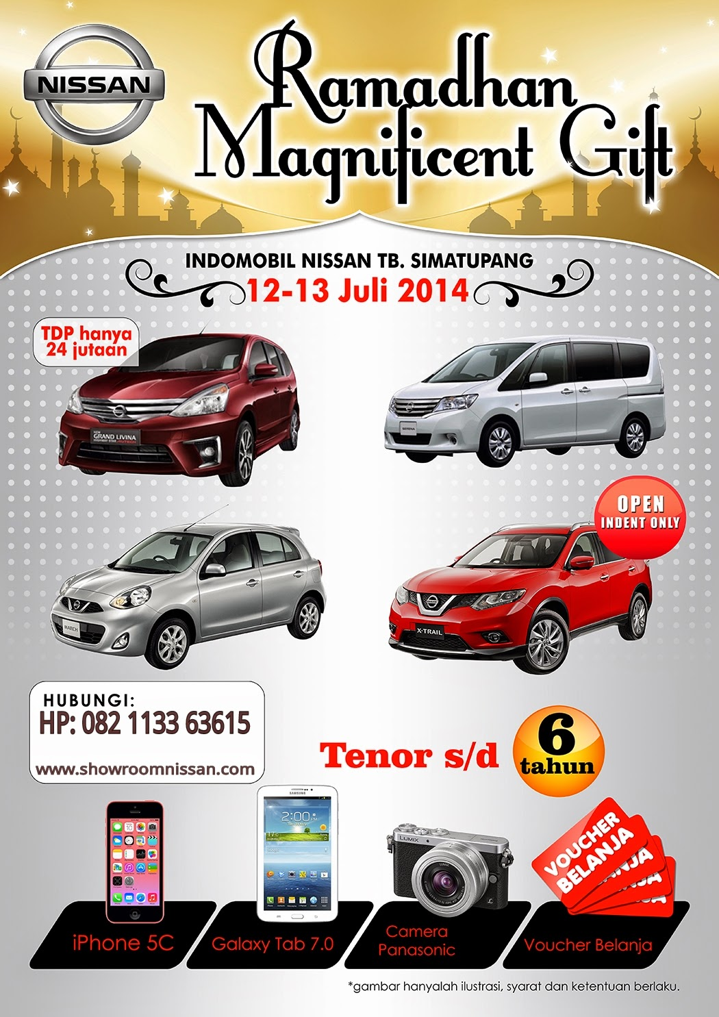 PROMO SHOWROOM NISSAN 2014